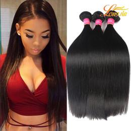 Wholesale Human Hair Indian Weave Price - Wholesale Price Straight Hair Natural Black 100% Unprocessed Peruvian Human Hair Extension Brazilian Malaysian Mongolian Indian Hair