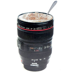 Wholesale Camera Lens Plastic Coffee Mugs Canons Cup Generation Of Len Mugs For Canon Fans Photography Novelty Gifts