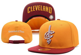 Wholesale Unisex Locker - NEW 2017 SnapBack Cleveland CAVS Locker Room Official Hat Adjustable men women Baseball Cap