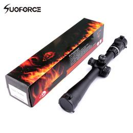Wholesale Hunting Airguns - Tactical Hunting Riflescope 4-14x40SFVF Green Dot Optical ight Scope Airgun Rifle sight Hunting Rail Mount 20mm