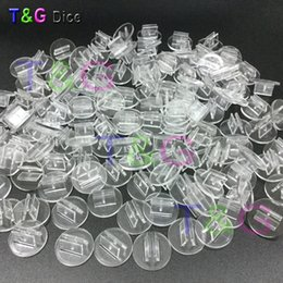 Wholesale International Cards - Wholesale- NEW High quality transparent plastic stand for 2mm paper card, board game components