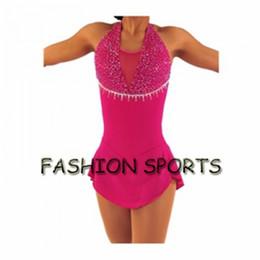 Wholesale Dress Figure Skate - Custom Figure Ice Skating Dresses New Brand Skating Dress For Competition HB2916