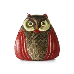 Wholesale Party Dresses For Teenage Girls - 2017 new Fashion Women Handmade Owls Leather Backpacks for Teenage Girls Female Backpacks Casual Bags Female Shoulder Bags