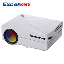 Wholesale Pico Games - Wholesale-Excelvan GM60 Projector Pico LED Projector For Video Games TV Home Theater Movie Support HDMI VGA AV SD Multimedia Beamer