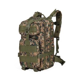 Wholesale Waterproof Molle Backpack - MOLLE tactical outdoor bags backpacks 3P Attack Tactical Military Backpacks 25L camouflage bags nylon waterproof outdoor sports backpacks