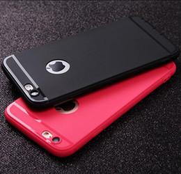 Custodia in silicone TPU satinato ultra-sottile per telefono cellulare Custodia antiurto in silicone per iPhone X XS MAX XR 8 7 6 Plus con tappo antipolvere DHL da spine gelo fornitori