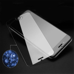 Wholesale Note Screen Protection - For iPhone 7 6 6S Tempered Glass Screen Protector for iPhone 6S Plus Samsung S6 S7 Note 5 screen clear film protection with0.26mm 9H Hardne