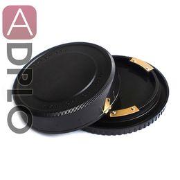 Wholesale Pentax Body - Wholesale- Lens Rear Cap and Body Cap Suit For Pentax 67 Plastic Black