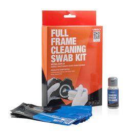 Wholesale Sensor Pack - Professional VSGO Full Frame Cleaning Swab Kit 12pcs Swab Sticks 15ml Cleanser Pack DSLR Sensor Swab CCD CMOS Cleaning.