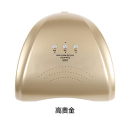 Wholesale Pink Thumbs - Wholesale- 36W UV LED Nail lamp Nail dryer for All Gels with 10s 30s 60s button Perfect Thumb Solution with Sun Light