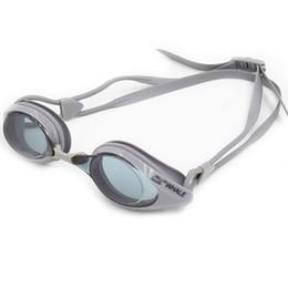 Wholesale Swimming Mirror - Glare-reducing Mirrored Coating Swim Goggles Anti-fog UV-protection Swimwear Swimming Goggles Sports Eyewear Glasses with Storage Y4247