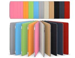 Wholesale Ipad Slim Magnetic Case - Slim Magnetic Smart Cover Case With Sleep Wake Up For ipad 2 3 4  5 6 air2 ipad mini 2 4 pu leather