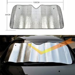 Wholesale Wholesale Sun Screen - Wholesale- 1PCS Practical Foam Tapetum Lucidum Screen Sunshade Sun Cover Car Protector foldable