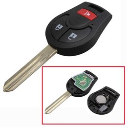 Wholesale Transmitter Chip - Remote Head Key For Nissan Oem Factory Keyless Entry 46 Chip Fob Transmitter 315MHZ