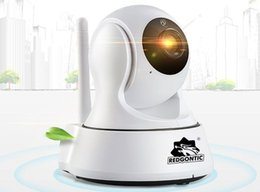 Wholesale Home Surveillance Wifi Outdoor - Redtech Home Security Wireless Mini IP Camera Surveillance Camera Wifi 720P Night Vision CCTV Camera Baby Monitor With Network Port Antenna