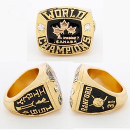 Wholesale Band Collection - Collection Edition Sports Series Jewelry Canada Hockey team 1994 world Hockey championship rings for men ring size 11