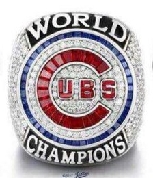 Wholesale Shipped Ring - Free Shipping high quality 2017 Wholesale 2016 Chicago Cubs World Series Championship Ring Baseball souvenir Sport Fan Men Gift wholesale