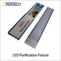 Светодиодные экраны онлайн-T8 Tube LED tri-доказательство свет половая доска 2FT 3FT 4FT взрывозащищенный два светодиодные лампы трубки заменить люминесцентные светильники потолочная решетка лампа