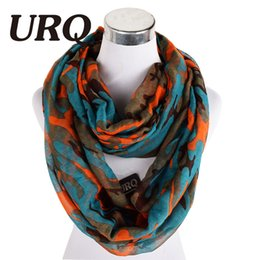 Wholesale Scarf Ring For Men - Wholesale-lady camouflageTube Scarves Warm For Men Women Fashion fancy Brand Design Plaid lady Ring Scarfs Infinity Scarves Tube 2016 New