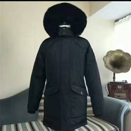 Wholesale Korean Fur Hooded Jacket - Korean Hot sales Mens winter down jacket k-editions Ryan Parkas hooded with fox furs collar MK2613KLP