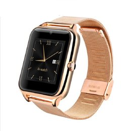 Wholesale German Internet - Bluetooth Smart Watch Internet NFC Support SIM TF Card Wearable Devices Smartwatch For Apple Android Phone Free Shipping