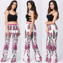 Wholesale Leggings Fashion Trend - Trend Casual Leggings Contract Color Women's Pants 2017 Summer Print Lightweight Full Length Clothing Hot Sale New Fashion