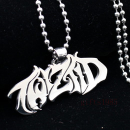 Wholesale Personalized Silver Charms - NEW Mirror high polished Twiztid Platinum silver Style charm stainless steel pendant necklace Support the wholesale, personalized custom.
