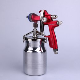 Wholesale Car Wash Guns - high pressure spray gun 4000 1000 professional Graity spray gun nozzle HVLP car paint gun surface treatment