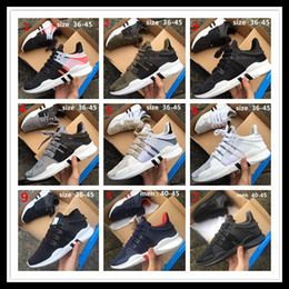 Wholesale Direct Blue - Direct selling High quality EQT Support ADV Primeknit running shoes for men and women sports shoes sneakers ,size us 5-10