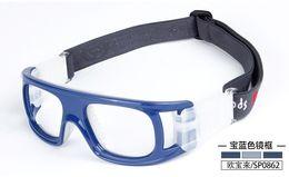 gafas de fútbol al por mayor Rebajas Al por mayor-Baloncesto profesional al aire libre gafas de fútbol Deportes gafas gafas de marco del ojo partido lente óptica miopía miopia SP0862