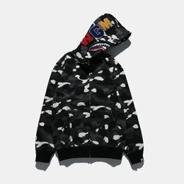 Wholesale Camouflage Winter Coats For Men - 2016 Autumn And Winter Tide Brand Men's Wear Noctilucent Camouflage Increase Man Casual Hoodies Hat Loose Coat Print jackets for men