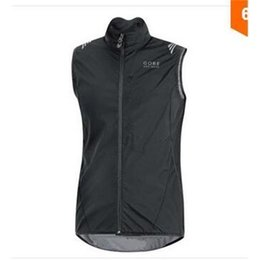 Wholesale Windproof Cycling Vest - 2015 new items Gores Cycling jersey Bicycle Windproof vest Cycling Clothing Bike Vest Sleeveless roupa ciclismo cycling tight sportwear