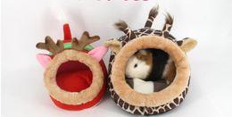 Wholesale Doghouse Free Shipping - Pet Nest Cute Cotton Nest Mini Pet Chihuahua Corgi Hikuma Teddy Doghouse Free Shipping