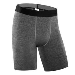 Wholesale Compression Baselayer - Wholesale- Brand Compression Running Shorts Men Baselayer Underwear Basketball Short Pants Dry Fit Cycling Yoga Gym Sports Shorts Man M14