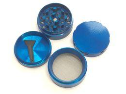 Wholesale Teeth Design - Mix designs 40mm 4 parts herb grinder smoking grinders size CNC grinder metal cnc teeth tobacco grinder For smoking