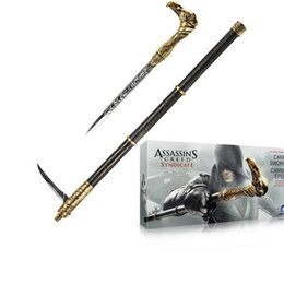 Wholesale assassins creed toys - Assassin's Creed Action Figures Weapon Syndicate Anime Game Assassin Creed Model Toys Syndicate