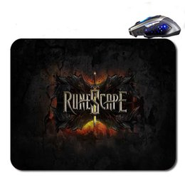 Wholesale Free High Definition - Runescape Logo Custom Hot Selling Antislip High Definition Printing Gaming Rubber Mouse Pad Cheap Computer Desk Free Shipping