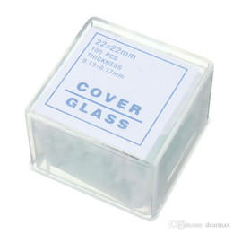 Wholesale Microscope Cover - New 100pcs Blank Microscope Slides with 50PCS Square Cover Glass New Arrival High Quality