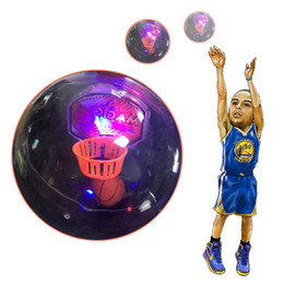 Wholesale Shooting Games Basketball - Decompression Toy Mini Palm Handheld Basketball Shooting Game with LED Light and Applause Sound Anti stress EDC Fidget Toys for Autism