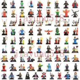 Wholesale Mini Figures Building Block - 500pcs lot Mini Building Blocks figures For Individually Single Sale Bricks Toys