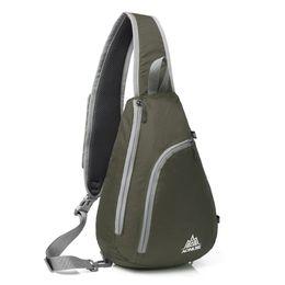 Wholesale Cycling Messenger Bags - AONIJIE Outdoor Sports Cycling Foldable Women Men Crossbody Messenger Bag Shoulder Sling Cross Body Bag For Shopping