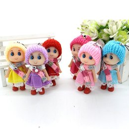 Wholesale Resin Foam - Confused doll accessories Taobao mobile phone pendants Korean creative gifts gift wedding gift plush toys