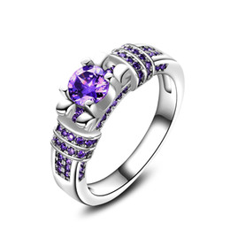 Wholesale Price Cubic Zirconia - High quality factory price 925 Sterling Silver fashion jewelryl ring for Women Jewelry free ship N34
