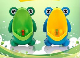 Argentina Frog Shaped Boys Stand Vertical Urinal Montaje en la pared Potty Toilet Training Niños Orinal Bebé Niños PP Trainer Baño Suministro