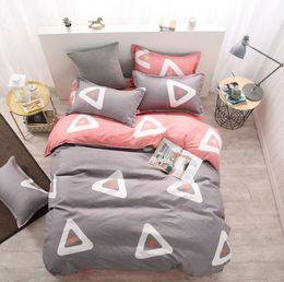 Wholesale King Bamboo Sheets - Bamboo Fiber Jacquard Duvet Cover Set 3 4PCS Sheets+quilt+Pillowcase Full King Queen Twin kids Size Bedding Set