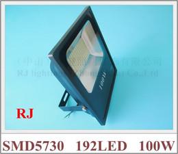 Wholesale asian wholesale led - RONGJIAN(RJ) SMD 5730 LED flood light floodlight 100W SMD5730 192LED (192*0.5W) AC85V-265V for US and Asian countries