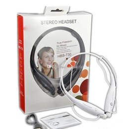 Wholesale Earphones For Iphone5 White - Cost Price HBS-730 HBS 730 Sport Bluetooth Headset Stereo Wireless Headphones Earphones For LG Apple iphone5 6 Samsung With Retail Package