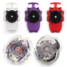 beyblade plastic fusion Promo Codes - 8 Stlyes New Spinning Top Beyblade Burst B -23 With Launcher And Original Box Metal Plastic Fusion 4d Gift Toys For Children F3