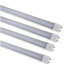 Wholesale T8 9w - LED Tubes G13 T8 LED 2ft 3ft 4ft 5ft 6ft LED Shop Light 9W 14W 18W 28W 32W Tubes Bulb SMD2835 AC85-265V