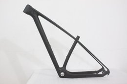 Wholesale Full Carbon Mountain Bike Frame - New Promotion Full carbon mtb bike frame 27.5er mountain bicycle carbon frameset 27.5 MTB frame